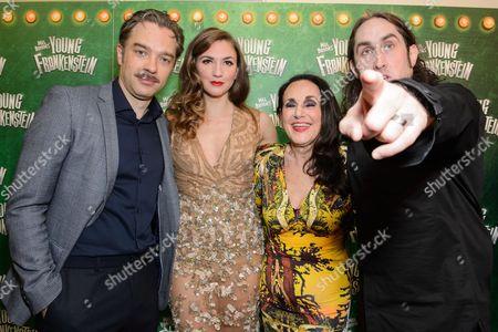 Hadley Fraser, Summer Strallen, Lesley Joseph and Ross Noble