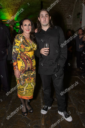 Lesley Joseph and Ross Noble