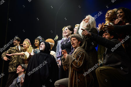Editorial image of 'Young Frankenstein' Press Night Curtain Call at The Garrick Theatre, London, UK - 10 Oct 2017