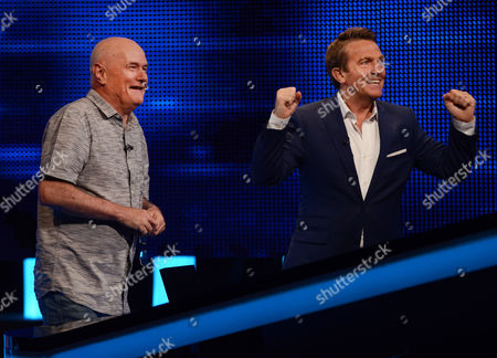 (Sat 14th Oct 2017) - (l-r) Dave Johns faces The Chaser with host Bradley Walsh