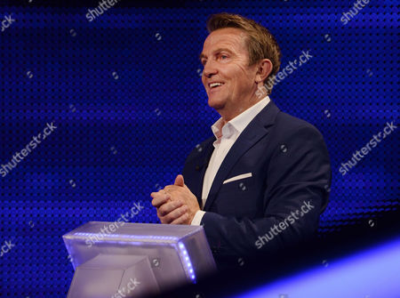 Stock Picture of (Sat 14th Oct 2017) - Host Bradley Walsh   Bradley Walsh hosts as four celebrities try to pit their brains against one of the countries finest quiz brains. But have Christian O?Connell, Carrie Grant, Naomi Wilkinson and Dave Johns got what it takes?  (c) ITV  For further information please contact Peter Gray 0207 157 3046 peter.gray@itv.com  This photograph is © ITV and can only be reproduced for editorial purposes directly in connection with the programme THE CHASE CELEBRITY SPECIAL or ITV. Once made available by the ITV Picture Desk, this photograph can be reproduced once only up until the Transmission date and no reproduction fee will be charged. Any subsequent usage may incur a fee. This photograph must not be syndicated to any other publication or website, or permanently archived, without the express written permission of ITV Picture Desk. Full Terms and conditions are available on the website www.itvpictures.com