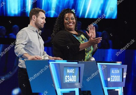 Stock Picture of (Sun 22 Oct 2017) - (l-r) Marc Baylis and Alison Hammond