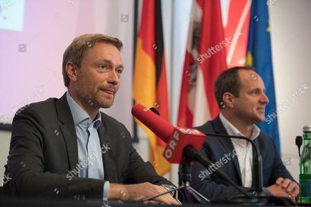 Christian Lindner and Matthias Strolz