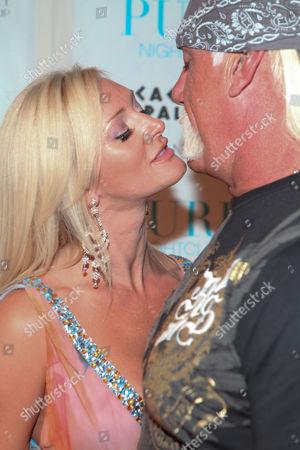 Jennifer Mcdaniel and Hulk Hogan Pictured at Pure Nightclub at Caesars Palace in Las Vegas Nevada May 5 2009 Â United States