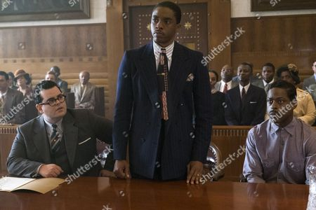 Josh Gad, Chadwick Boseman, Sterling K. Brown
