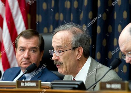 Ed Royce, Eliot Engel. House Foreign Affairs Committee's ranking member Rep. Eliot Engel, D-N.Y. speaks during a hearing on Iran before the House Foreign Affairs Committee at Capitol Hill in Washington on . At left House Foreign Affairs Committee Chairman Rep. Ed Royce, R-Calif