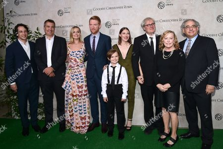 Editorial picture of 'Goodbye Christopher Robin' film premiere, Arrivals, New York, USA - 11 Oct 2017