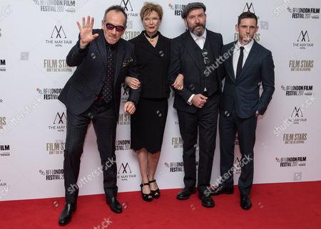 Elvis Costello, Annette Bening, Paul McGuigan and Jamie Bell