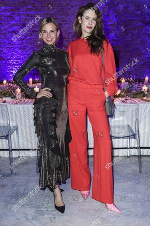 Nadeshda Brennicke and Julia Malik