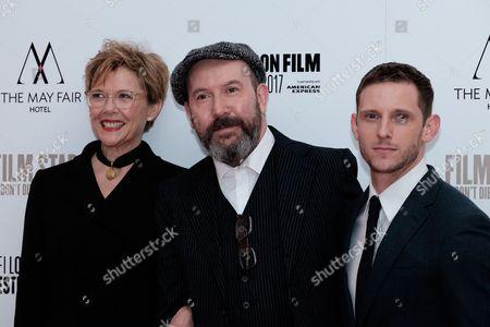 Annette Bening, director, Paul McGuigan and Jamie Bell