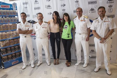 Stock Photo of Former gymnastic, Almudena Cid and Bimbo present the 3rd Bimbo Global Energy Race.