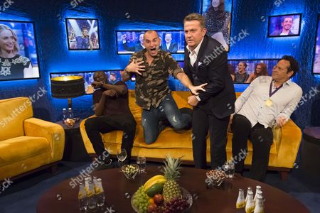 Stormzy, Louie Spence, Bradley Walsh and Vince Vaughn
