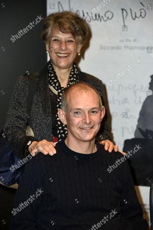 Simonetta Lamb Hornby and George Hornby