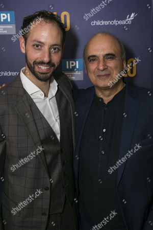Philip Arditti (Uri Savir) and Peter Polycarpou (Ahmed Qurei)
