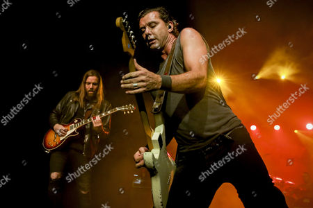 Gavin Rossdale and Chris Traynor