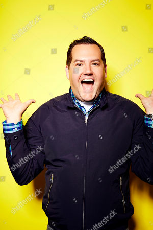Stock Picture of Host of the new E! Network talk show 'Hello Ross!' Ross Mathews poses for a portrait, on in New York
