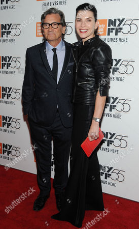 Griffin Dunne and Julianna Margulies