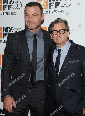Griffin Dunne and Liev Schreiber