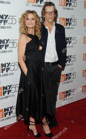 Stock Photo of Kyra Sedgwick and Kevin Bacon
