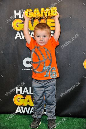 Stock Picture of Titus Ashby makes an appearance in the press room at the 4th Annual Hall of Game Awards on Feb, 15, 2014, in Santa Monica, Calif