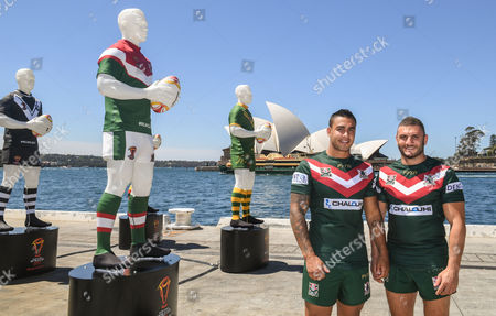 Stock Image of Robbie Farah and Michael Lichaa