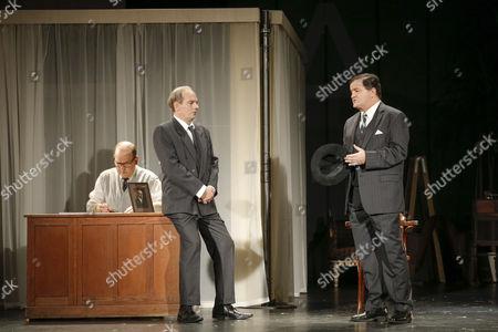 Oliver Nitsche (spielt: Mack Sennett, J Edgar Hoover,Setmitarbeiter), Herbert Schoeberl (spielt: Veranstalter, Rollie, Jack, Schiffskapitän, Barton, 1. Mann), Joerg Westphal (spielt: Al Reeves, Leiter der Chaplin Studios, James, Passant/2. Mann)