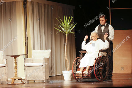 Stock Image of Brigitte Grothum (spielt: Hannah Hill Mutter of Charlie), Joerg Westphal (spielt: Al Reeves, Leiter der Chaplin Studios, James, Passant/2. Mann)