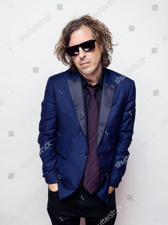"""Director/writer Brett Morgan poses for a portrait to promote the film, """"Kurt Cobain: Montage of Heck"""", at the Eddie Bauer Adventure House during the Sundance Film Festival, in Park City, Utah"""