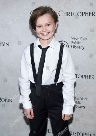"""Will Tilston attends a """"Goodbye Christopher Robin"""" screening at the New York Public Library, in New York"""