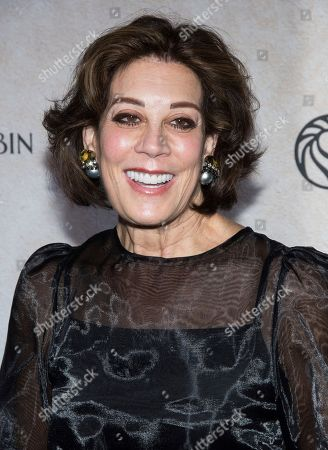 """Peggy Siegal attends a """"Goodbye Christopher Robin"""" screening at the New York Public Library, in New York"""