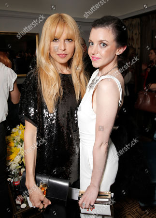 Rachel Zoe and Claudia Levy attend the after party for the Los Angeles Premiere of PALO ALTO on in Los Angeles
