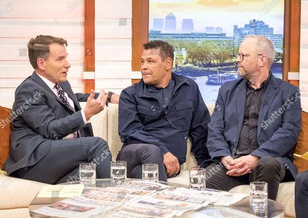Editorial photo of 'Good Morning Britain' TV show, London, UK - 12 Oct 2017