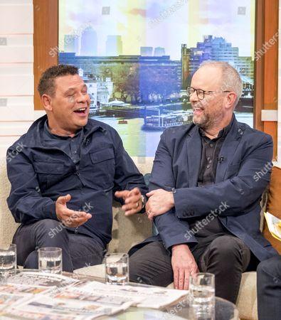Craig Charles and Robert Llewellyn