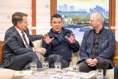 Stock Picture of Richard Arnold, Craig Charles and Robert Llewellyn