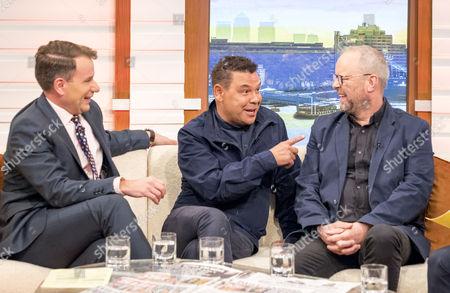 Editorial image of 'Good Morning Britain' TV show, London, UK - 12 Oct 2017