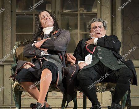 Alastair Miles as Don Basilio, Alan Opie as Doctor Bartolo