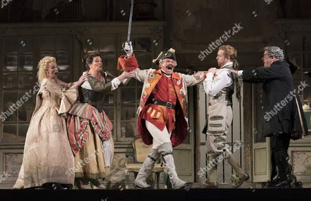 Editorial picture of 'The Barber of Seville' performed by the English National Opera at the London Coliseum, UK, 12 Oct 2017
