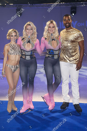 Stock Photo of Anette Dytrt, Cheyenne Pahde, Valentina Pahde and Yannick Bonheur
