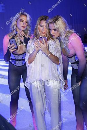 Cheyenne Pahde, Tanja Szewczenko and Valentina Pahde