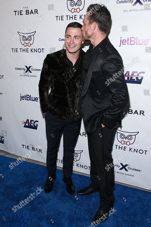 Editorial picture of Tie The Knot party, Arrivals, Los Angeles, USA - 12 Oct 2017