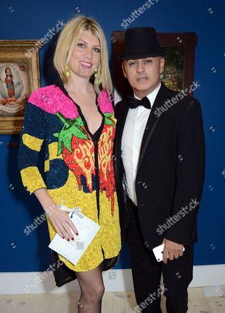 Meredith Ostrom and Stuart Watts