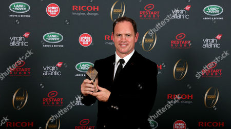 Kyran Bracken is inducted into the Premiership Rugby Hall of Fame at Honourable Artillery Company, London, England on Thursday 12th of October 2017 - (