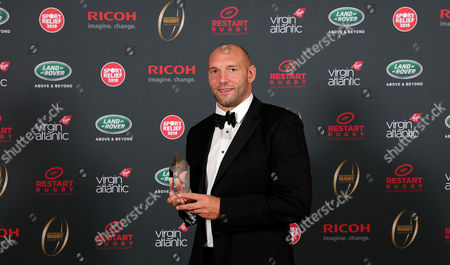 Ben Kay is inducted into the Premiership Rugby Hall of Fame at Honourable Artillery Company, London, England on Thursday 12th of October 2017 - (