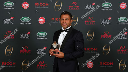 Jason Robinson is inducted into the Premiership Rugby Hall of Fame at Honourable Artillery Company, London, England on Thursday 12th of October 2017 - (