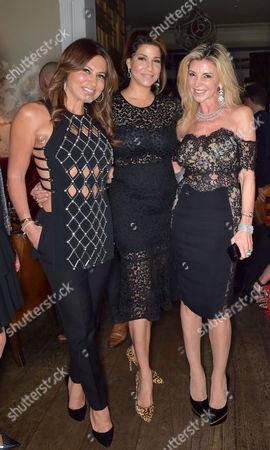 Stock Picture of Ella Krasner, Lucy Vasquez and Lisa Tchenguiz