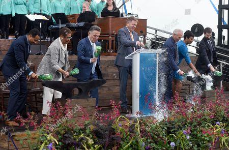 Editorial image of Grand Opening Kick Off Celebration of The Wharf, Washington, USA - 12 Oct 2017