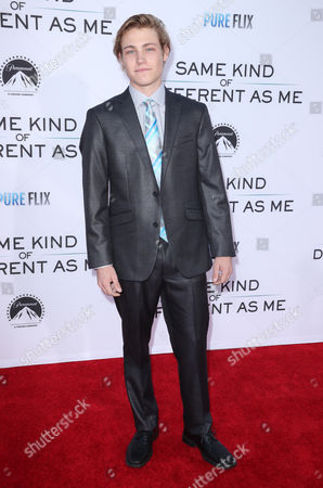 Editorial picture of 'Same Kind of Different as Me' film premiere, Arrivals, Los Angeles, USA - 12 Oct 2017