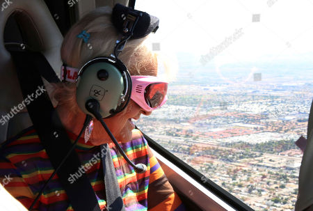 Baddie Winkle checks off another #BadAssBucketList activity with Hotels.com® while soaring over the Grand Canyon, Ariz., in a helicopter ? talk about a seat with a view! Baddie Winkle's #BadAssBucketList celebrates Hotels.com® Rewards ? if only everything in life was as rewarding as Hotels.com® Rewards