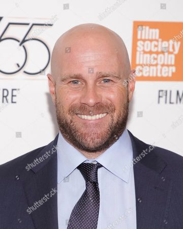 """Producer Christopher Lemole attends a special screening of """"Mudbound"""", during the 55th New York Film Festival, at Alice Tully Hall, in New York"""