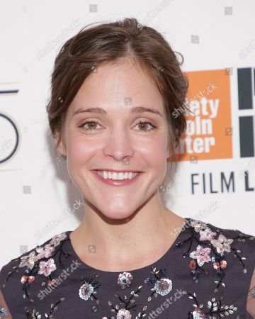"""Stock Image of Actress Lucy Faust attends a special screening of """"Mudbound"""", during the 55th New York Film Festival, at Alice Tully Hall, in New York"""